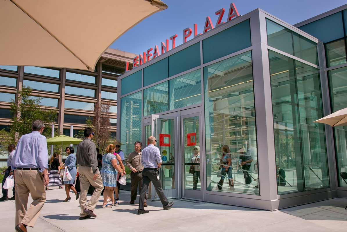 L'Enfant Plaza Entrance